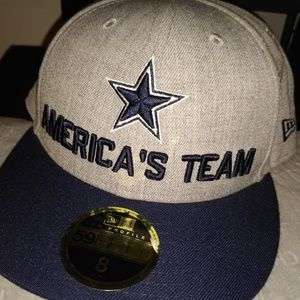 Dallas Cowboys America's Team New Era Fitted Hat